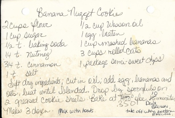 cookie recipe
